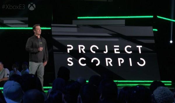 کنسول XBOX پروژه SCORPIO
