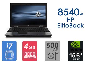 لپ تاپ دست دوم استوک HP Elitebook 8540w-i7