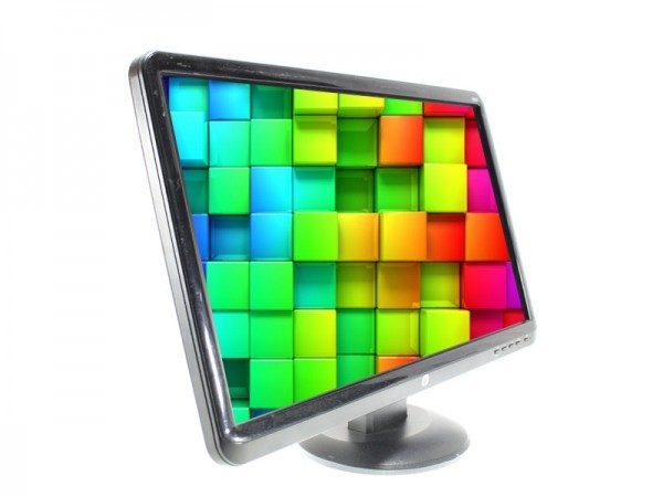 مانیتور دست دوم استوك 20 اینچ واید اچ پی LCD 20 inch wide HP(صفحه براق)