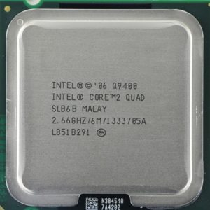 سی پی یو دست دوم Intel® Core™2 Quad Processor Q9400 (6M Cache, 2.66 GHz, 1333 MHz FSB)