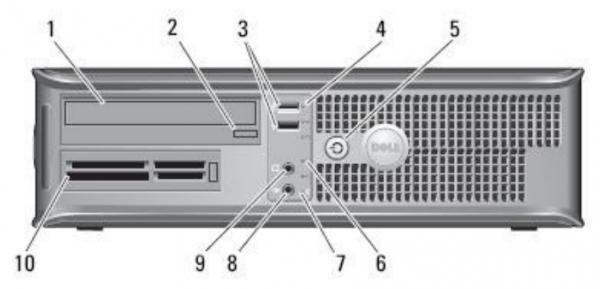 کیس کامپیوتر دست دوم استوک اروپا DELL OPTIPLEX 780 Core 2 DU E8400