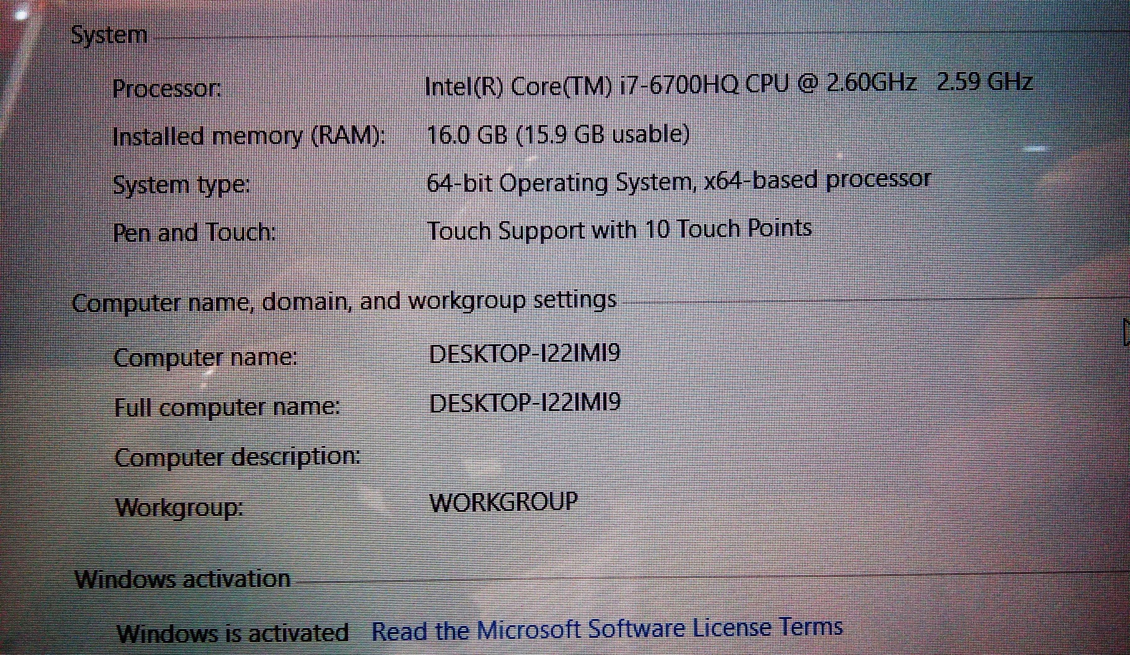لپ تاپ دست دوم ایسوس مدل n552v