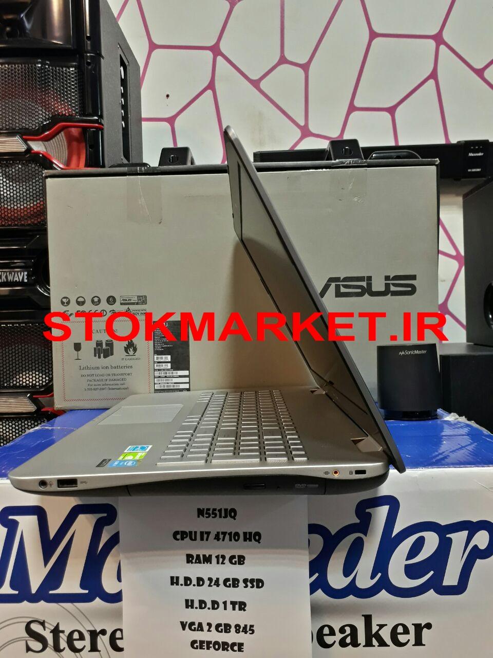 لپ تاپ دست دوم ایسوس Asus n551jq