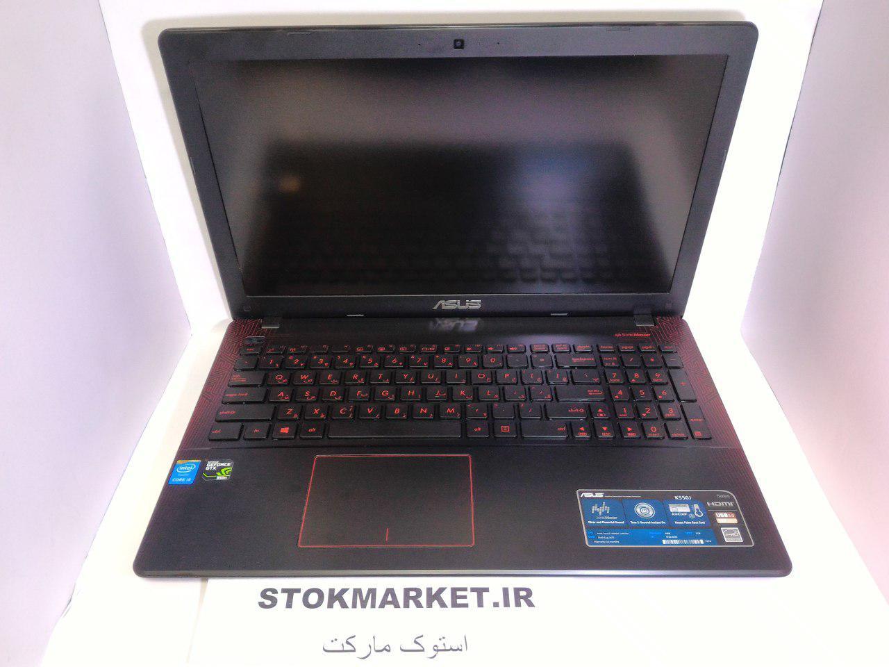 لپ تاپ دست دوم ایسوس مدل ASUS K550jx