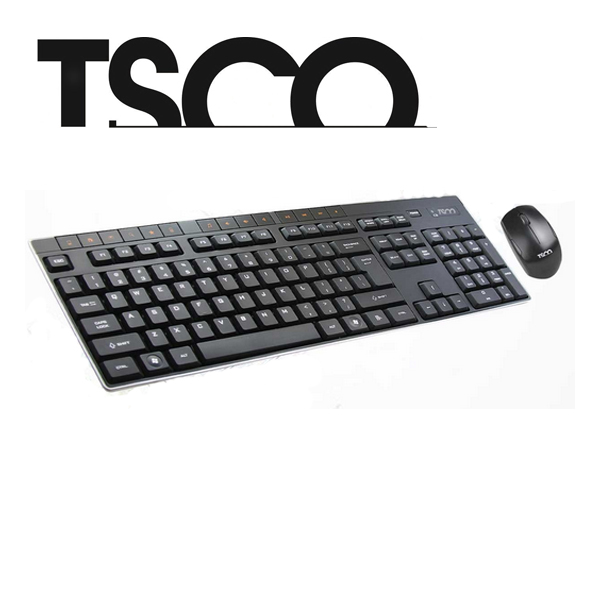 کی برد و موس بی سیم Tsco Wireless TKM 7002 Keyboard+Mouse