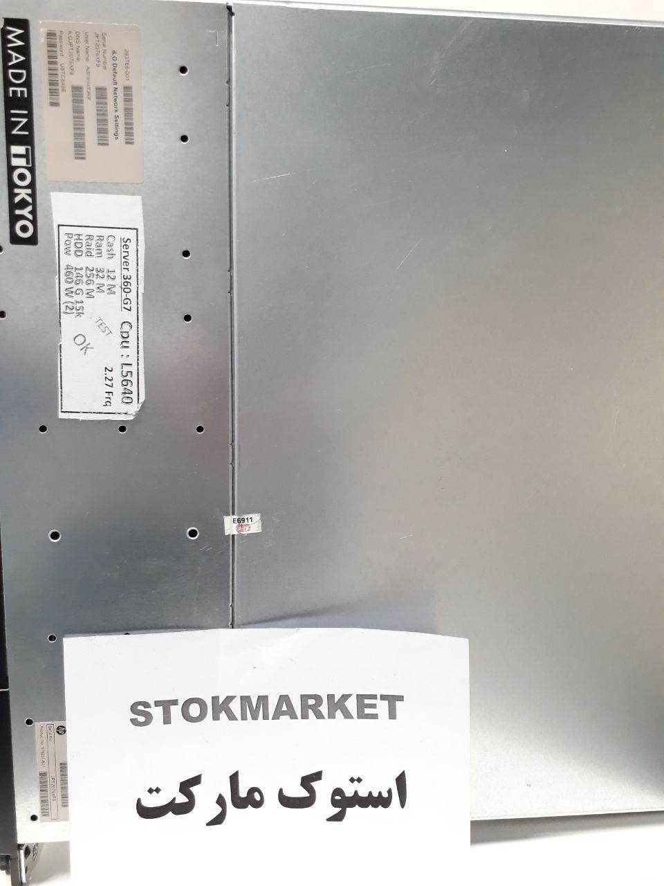 قیمت سرور استوک hp