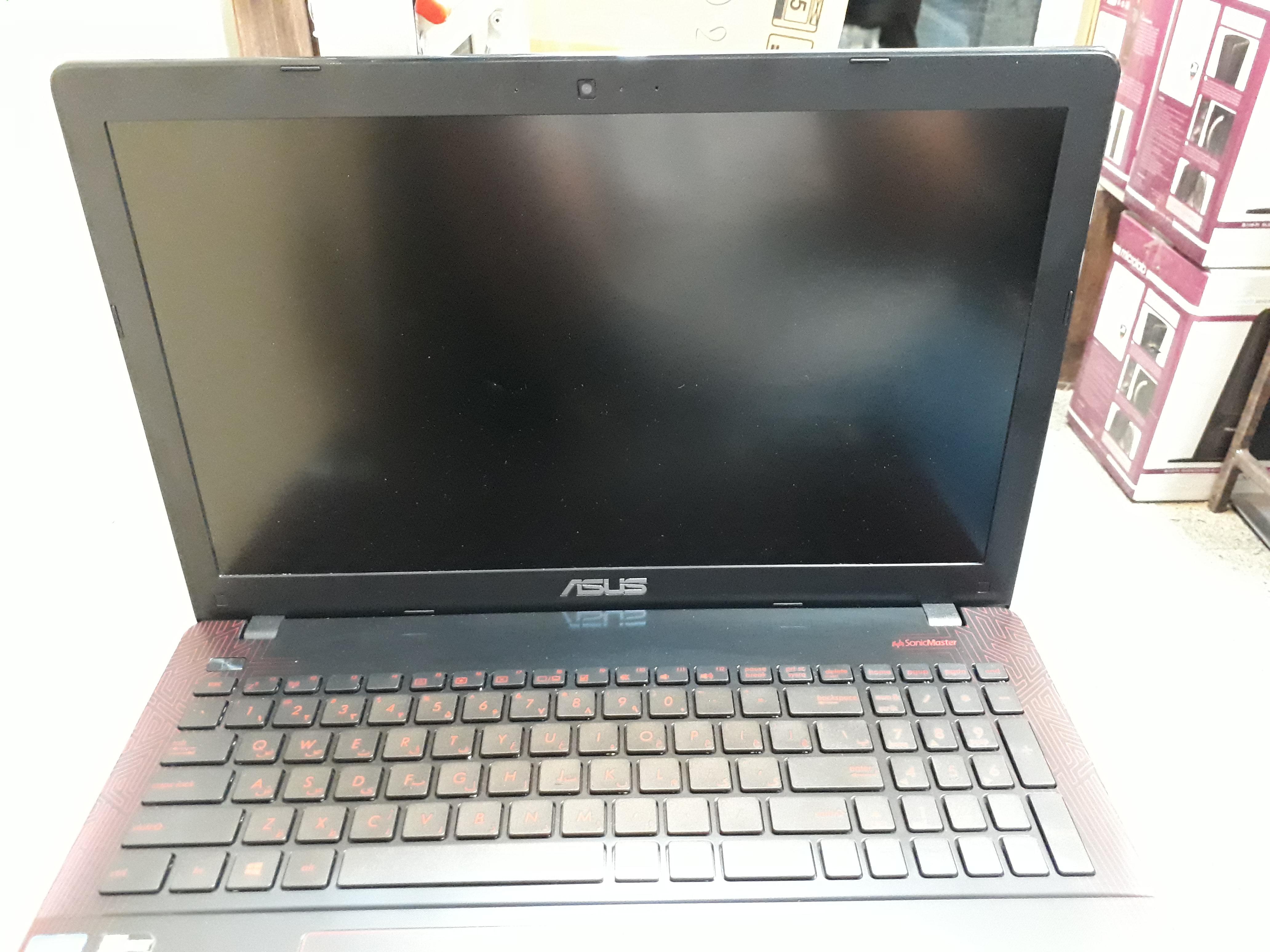 لپ تاپ اپن باکس استوک ایسوس مدل k550 v