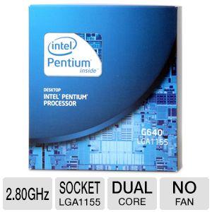 سی پی یو دست دوم Intel® Pentium G640 socket 1155