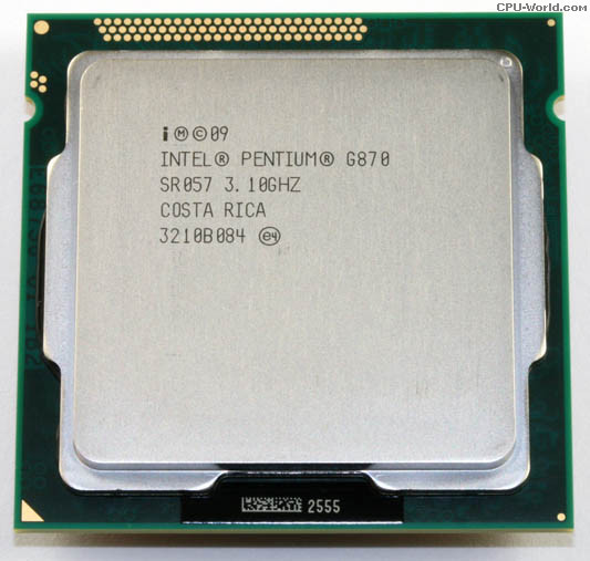 سی پی یو دست دوم Intel® Pentium G840 socket 1155