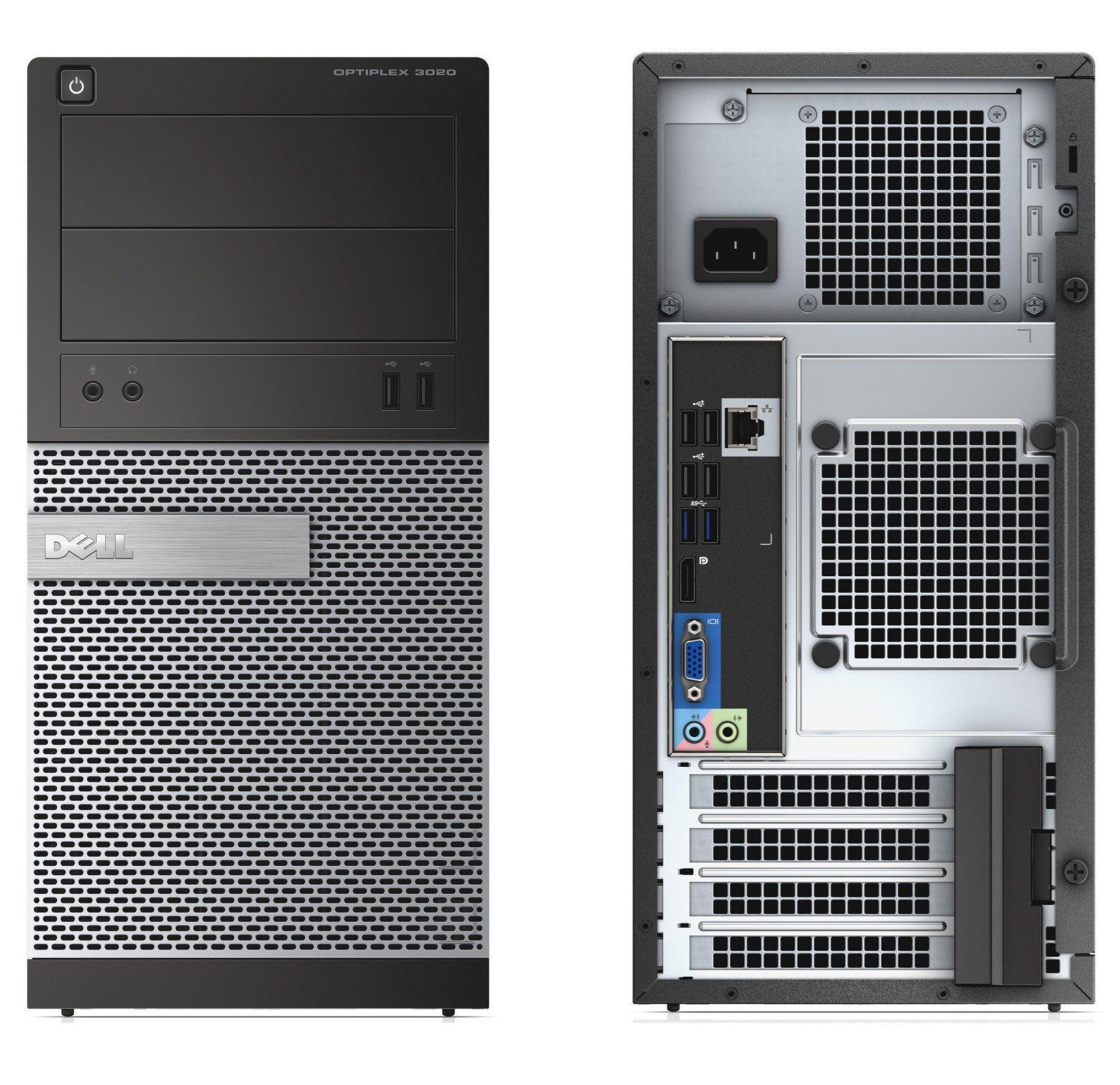 کیس کامپیوتر دست دوم دلDell Optiplex 3020 Tower cpu:i5..4570 نسل چهارم