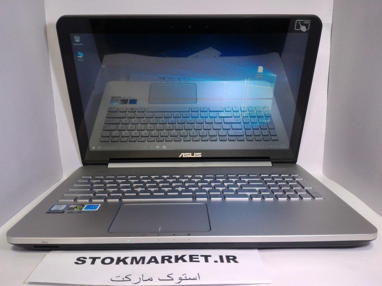 لپ تاپ دست دوم ایسوس مدل ASUS N552 VW 4K